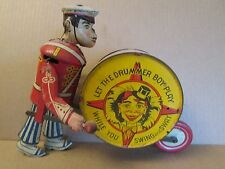 Vintage Marx Let The Drummer Boy Play Litho Wind up toy