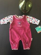 Healthtex Baby Girl Size 0-3 Months Outfit Set Overall