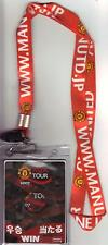 2007/08  Urawa Red Diamonds  v  Manchester United - Japan CD Pass & Lanyard