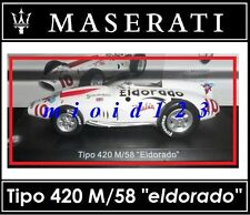 1/43 - Maserati 100 Years Collection : TIPO 420/M/58 Eldorado [1958] - Die-cast