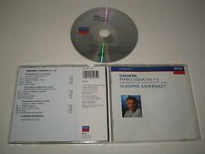 F.CHOPIN/PIANO SONATAS 1-3(DECCA/448 123-2)CD ALBUM
