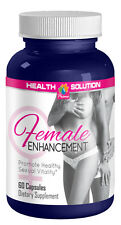 Female Enhancement Sexual Vitality Horny Goat Weed, Maca, Tongkat Ali (60 Caps)