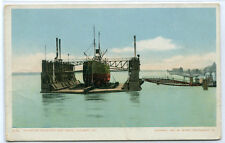 Mammoth Floating Dry Dock Steamer Algiers Louisiana 1907c postcard