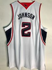 Adidas Authentic NBA Jersey Hawks Joe Johnson White sz 52