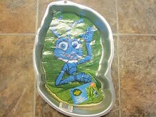 1998 Wilton A Bug's Life Flik Cake Pan with Full Color Insert, Ant Insect Bug
