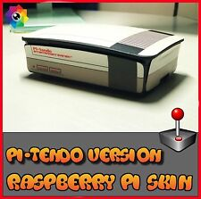 Raspberry Pi 3 (Skin only)  NES (Use with official Raspberry pi 3 case) Retropie