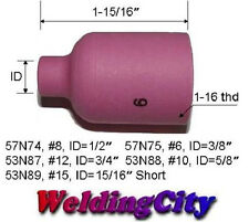 5 Large Gas Lens Ceramic Cups 57N75 (#6) for All TIG Welding Torch (U.S. Seller)