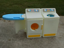 Vintage Little Tikes Washer and Dryer Flip out Ironing Board Plastic