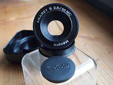 Meopta ANARET-S 2.8 / 50mm MC  ***ausgezeichneter MACRO-Kopf M39*** Zustand 1-A