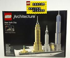LEGO 21028 Architecture New York City Skyline Set 598pcs BRAND NEW IN HAND TODAY