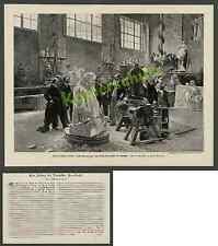 Scultore Zumbusch Alois Strobl atelier Vienna Habsburg nobiltà Kaunitz Bill Roth 1898