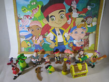 JAKE AND THE NEVER LAND PIRATES 12 Pcs Figure Playset Cake Toppers