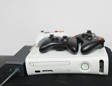 Xbox 360 W/ 3 Controllers (NO RED RING)