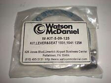 WATSON MCDANIEL W-KIT-5-09-125 WKIT509125 LEVER & SEAT KIT KIT NEW