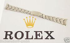 Rolex Oyster pulsera-acero inoxidable-doblado - 1960/70er años - 19 mm-Daytona