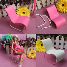 2PCS Rocking Beach Lounge Chair Livingroom Gardan Furniture For Barbie Doll