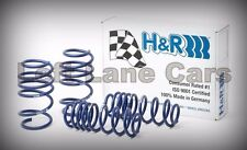 H&R Suspension SPORT Lowering Springs Audi B6 B7 A4 Quattro V6 3.0 3.2 02-08