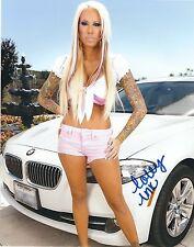 Lolly Ink Adult Film Star Signed 8x10 Photo #130 Desire Films Sticky Evil Angel