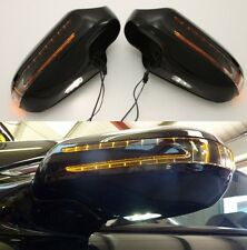 Mercedes W164 ML new arrow style LED door wing mirrors Black