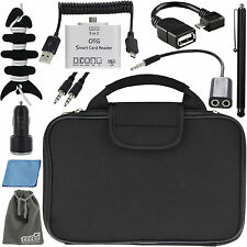 EEEkit Sleeve Bag+Car Charger+Accessories for Samsung Galaxy Tab A T550 S2 T810