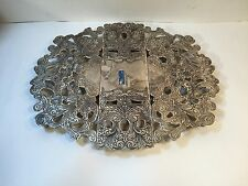 Vintage International Silver Co. Silver Plate Expandable Adjustable Trivet