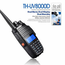 NEW Radio TYT TH-UV8000D 136-174/400-520MHz 10W FM Cross Band Transceiver Radio