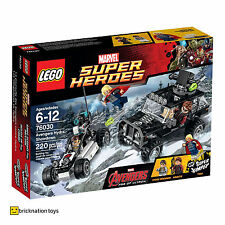LEGO 76030 MARVEL SUPER HEROES Avengers Hydra Showdown BRAND NEW AND SEALED