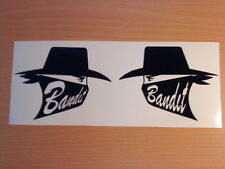 fun suzuki bandit x2 fuel tank helmet vinyl graphics decals sticker motorbike tt