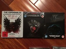 Expendables 1,2,3 Collection (Blu Ray Steelbooks)