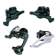 microSHIFT TS70-9 MTB Trip 3 x 9 Speed Derailleurs Group Set Shifter For Shimano