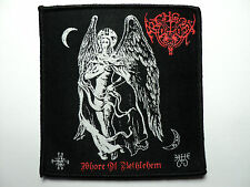 ARCHGOAT   WOVEN  PATCH  MORBOSIDAD,BLACK WITCHERY