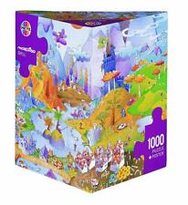 HEYE JIGSAW PUZZLE MORDILLO: IDYLL 1000 PCS COMICS TRIANGULAR BOX #29230