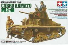 1:35 TAMIYA KIT DI MONTAGGIO CARRO ARMATO ITALIAN MEDIUM TANK M13/40  ART 35296