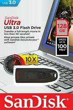 Sandisk Ultra 128GB USB 3.0 Flash Drive CZ48 128 GB Pen Drive