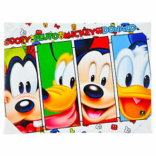 DISNEY'S MICKEY MOUSE & FRIENDS LED LIGHT UP CANVAS EFFECT PICTURE 30 X 40CM NEW