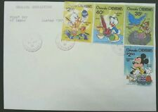 Grenada Walt Disney Easter 1981 Cartoon (stamp FDC) *stamp pasted out of cover
