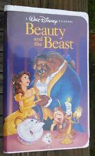 Walt Disney Classic: Beauty And The Beast VHS Rare 1992 BLACK DIAMOND