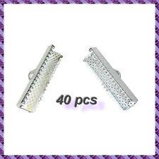 40 Embouts de cordon a griffe 25mm (Tarif de liquidation)