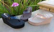 WHOLESALE LOT 24 Prs  NEW Womens Platforms/Wedge T-Strap Sandals-1098 Mix