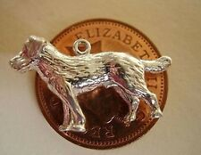 BEAUTIFUL STERLING SILVER LABRADOR DOG CHARM
