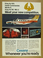 1970 Cessna 421 Golden Eagle airplane aircraft photo vintage print Ad