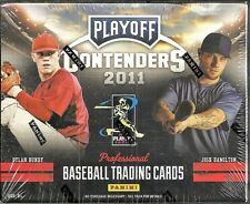 2011 Playoff Contenders Baseball Factory Sealed Hobby Box Mike Trout RC  ???
