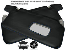 BLUE STICH 2X SUN VISORS LEATHER COVERS FITS HONDA CIVIC EK3 EK4 EK9 EJ9 96-00