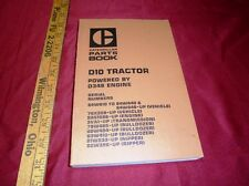 CAT Caterpillar D10 Tractor Powered by D348 Parts Book SEBP1288 catalog OEM