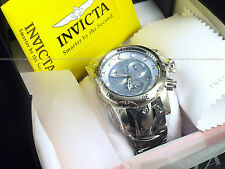 NEW Invicta Reserve Mens Venom Swiss Made Chronograph Baby Blue MOP 1000M Diver