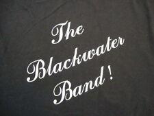 Vintage The Blackwater Band RARE concert tour 80's black 50/50 T Shirt L