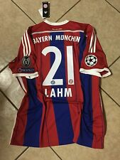 Germany bayern Munich Lahm S, M,LG ,XL jersey original Adidas football shirt
