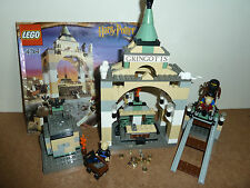 LEGO HARRY POTTER  4714 GRINGOTT'S BANK COMPLETE HAGRID GOBLINS INSTRUCTIONS