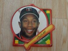 Minnesota Twins Kirby Puckett 1989 Tara Toy Collector Plaque Vintage