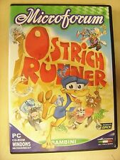 Ostrich Runner - video game PC bambini